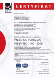 certyfikat 2015